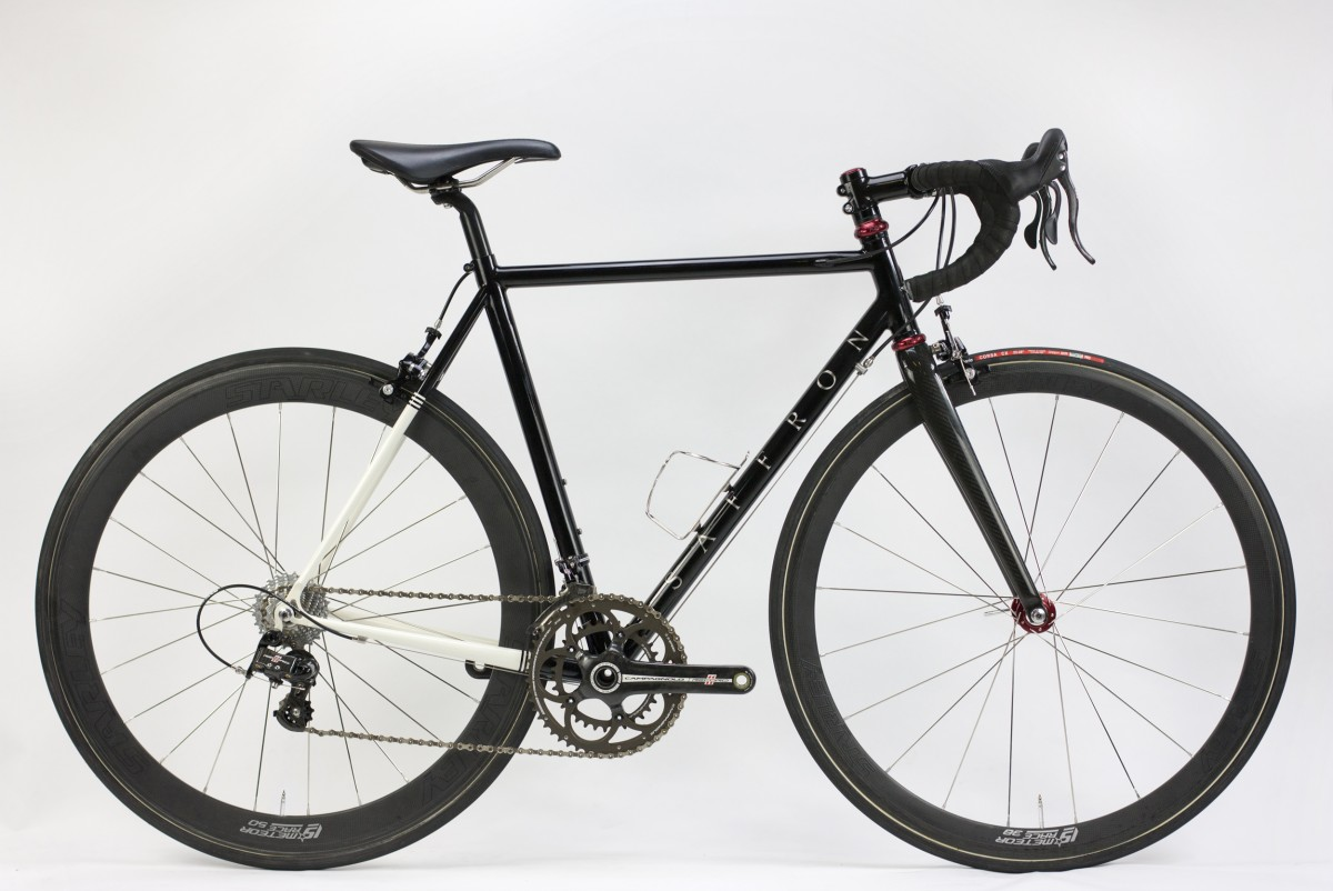 Bespoke bicycles made by Saffron Frameworks - handmade steel bicycles.