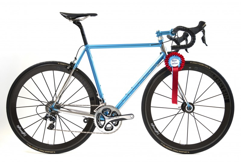 Cyclefit's fully stainless steel road bike