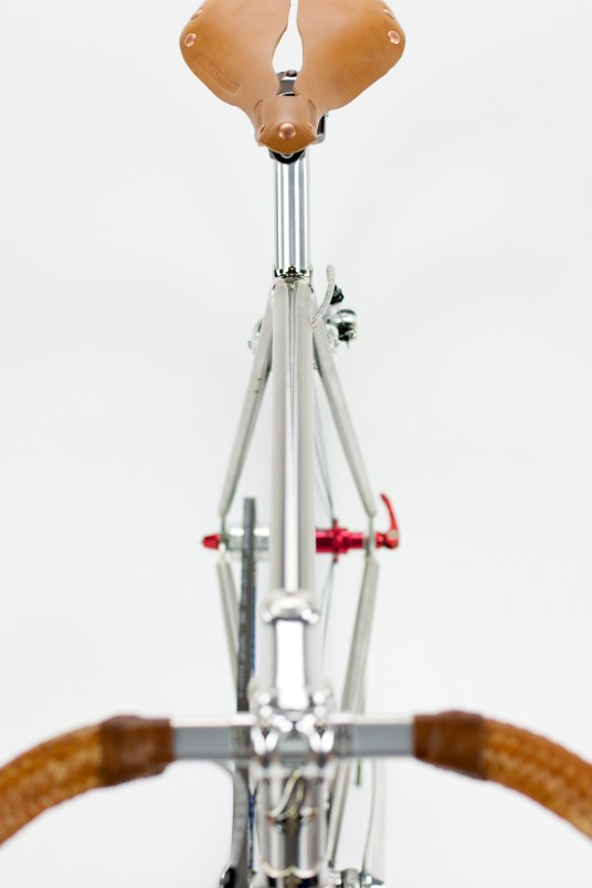 John S Stainless Steel Urban Bike