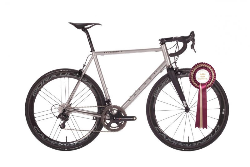 Dan Craven's Stainless Steel Race Bike